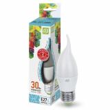 Лампа сд LED-СВЕЧА на ветру-standard 3.5 Вт 160-260В Е27 4000К 320Лм ASD