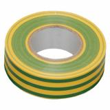 Изолента 0,13х15мм 20м желто-зеленая IEK