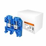 Зажим наборный ЗНИ-4мм2 (JXB35А) синий TDM