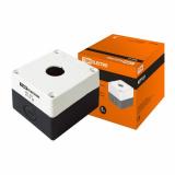 Корпус КП101 для кнопок 1 место белый TDM (EC)