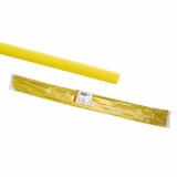 Термоусаживаемая трубка ТУТнг 2/1 желтая по 1м (200 м/упак) TDM