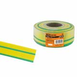 Термоусаживаемая трубка ТУТнг 40/20 желто-зеленая (50 м/ролл) TDM