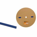 Термоусаживаемая трубка ТУТнг 10/5 синяя  (100м/ролл) TDM