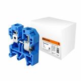 Зажим наборный ЗНИ-6мм2 (JXB50А) синий TDM