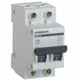 Автоматический выключатель ВА 47-29 2-п 40А (С) GENERICA
