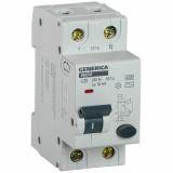 Автоматический Выключатель Дифференциального тока  АВДТ 32 С25 GENERICA