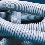 Труба ПВХ гибкая гофр. д.25мм. лёгкая с протяжкой. 50м. цвет серый 91925 DKC
