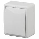 ЭРА Выключатель с подсветкой, 10АХ-250В, ОУ, Эра Эксперт, белый 11-1202-01
