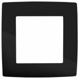 ЭРА Рамка на 1 пост, Эра12, чёрный 12-5001-06