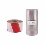 Лента сигнальная, оградительная, красно-белая (упак.5шт) ЛСО-50*100 TDM
