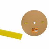 Термоусаживаемая трубка ТУТнг 16/8 желтая (100 м/ролл) TDM