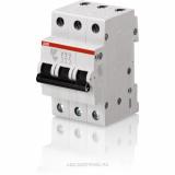 ABB SH203L Автоматический выключатель 3P 10А (С) 4,5kA 2CDS243001R0104