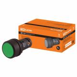 Кнопка SB7-CA35 d22мм 1з+1р зеленая TDM