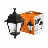 Светильник садово-парковый НСУ 04-60-001 четырехгранник, подвес, пластик, черный TDM