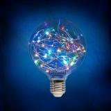 Шар новогодний GLDEN-G95SW-1-230-E27-RGB