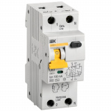 Автоматический Выключатель Дифференциального тока  АВДТ 32 C63 100мА IEK