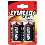 Батарейка SHD 2шт Eveready D B2 R20 Энерджайзер