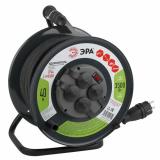 ЭРА Удлинитель силовой RMx-4es-3x2.5-40m-IP44(KG) на м. катушке c/з 4 гн 40м КГ 3х2.5