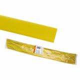 Термоусаживаемая трубка ТУТнг 30/15 желтая по 1м (25 м/упак) TDM
