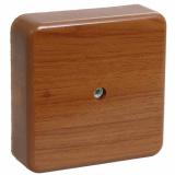 Коробка распаячная КМ для о/п 75х75х20мм ДУБ IEK