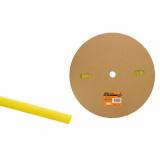 Термоусаживаемая трубка ТУТнг 12/6 желтая (100 м/ролл) TDM
