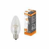 """Лампа накаливания """"Свеча прозрачная"""" 40 Вт-230 В-E27 TDM"""
