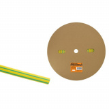 Термоусаживаемая трубка ТУТнг 12/6 желто-зеленая (100м/ролл) TDM