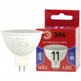 Лампа светодиодная LED MR16-11W-865-GU5.3 R ЭРА (диод, софит, 11Вт, хол, GU5.3) (10/100/4000)