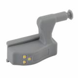 SB-401 Фонарь ЭРА пушлайт-подсветка на петлю в кухонный шкаф [3SMD LED, 2xA23, бл]