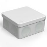 Коробка распределительная 60-0300 для прямого монтажа двухкомпонентная безгалогенная (HF) 100х100х50