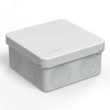 Коробка распределительная 60-0210 для прямого монтажа двухкомпонентная безгалогенная (HF) 80х80х40