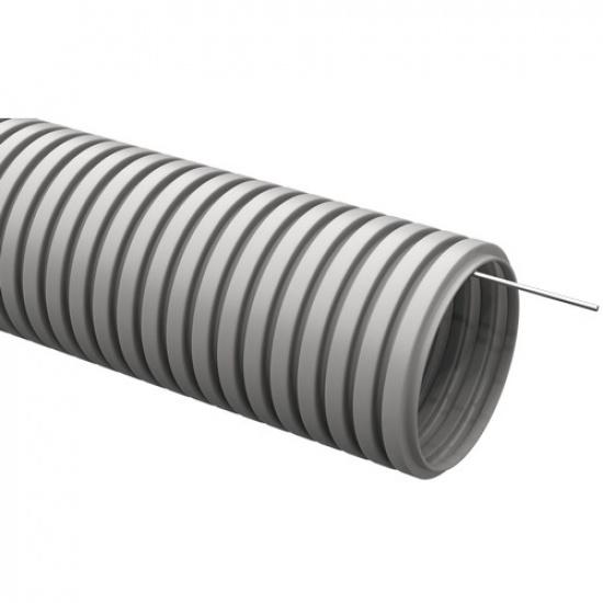 Труба гофр. 20мм с зондом (100м) IEK - 1