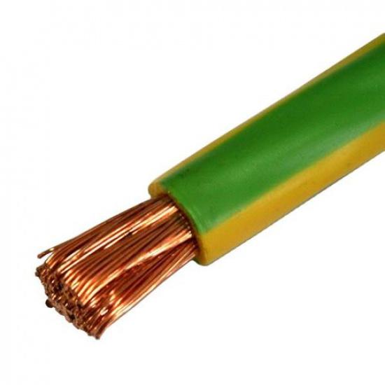 Провод ПуГВ 16,0 желто-зелёный - 1