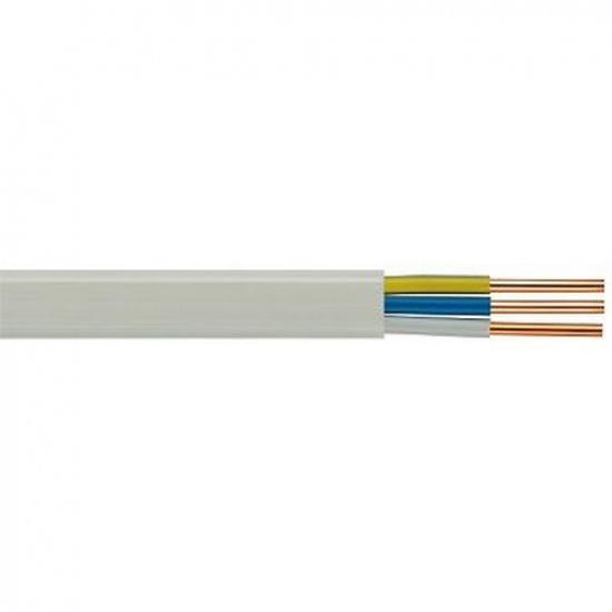 Провод ПУНП (ПУВВ) 2х1,5 Б белый - 1