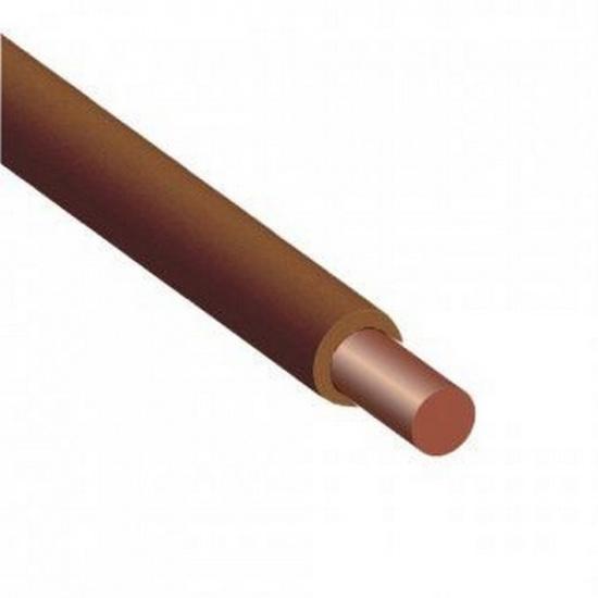 Провод 10,0 ПуВ коричневый - 1