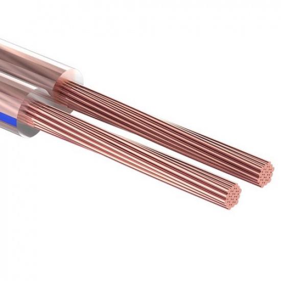 Кабель акустический 2х0,75 прозрачный BLUELINE, 100 м, PROCONNECT - 1