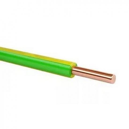 Провод ПуВнг(А)-LS 1х4 желто/зеленый - 1