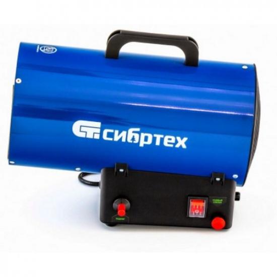 Газовая тепловая пушка СТГ-10, 10 кВт, 300 м3/ч, пропан-бутан// Сибртех - 1